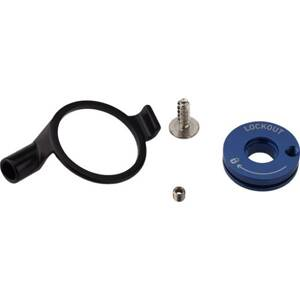 Remote Spool/Cable Clamp Kit XC32/Recon Silver (17mm Pull Damper, PopLoc/pre-2013 PushLoc ROCKSHOX