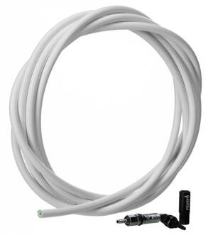 ROCKSHOX Hydraulic Hose White (2000mm) Kit - Reverb (includes new hose, new strain relief, new barb