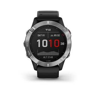 Garmin fénix 6 Silver Black band