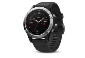 Garmin fénix 5 Silver + Black Band