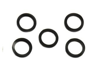 Chain Ring Nut Spacer Kit 2mm Aluminum Black Qty5 SRAM