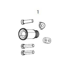 GX Eagle Rear Derailleur B-Bolt and Limit Screw Kit Hex5